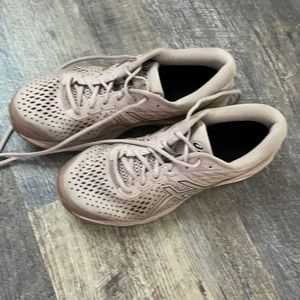 Used ASICS running shoes